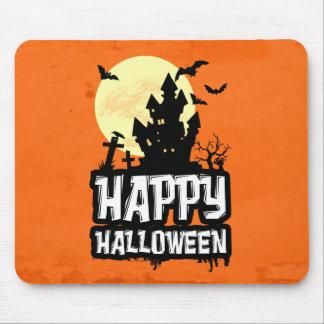 Halloween heureux tapis de souris