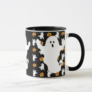 Halloween huent la tasse