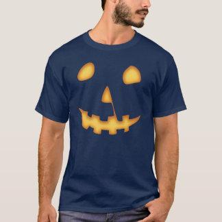 Halloween Jack-o'-lantern (sur le noir) T-shirt