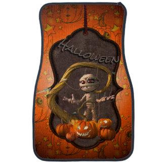 Halloween, maman drôle avec le citrouille tapis de sol