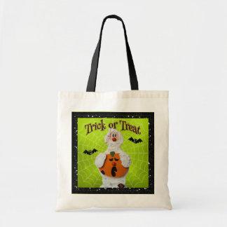 Halloween - maman et citrouille mignons sacs