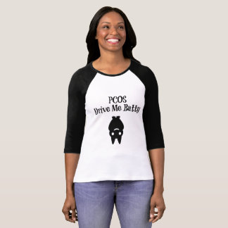 Halloween PCOS me conduit T-shirt timbré
