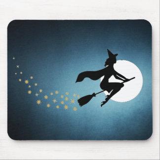 Halloween - sorcière tapis de souris