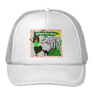 Halloween - une bonne sorcière ? casquettes de camionneur