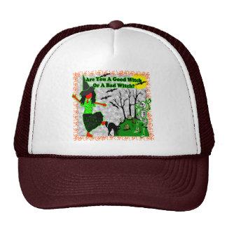 Halloween - une bonne sorcière ? casquette de camionneur