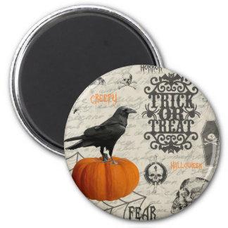 Halloween vintage aimant