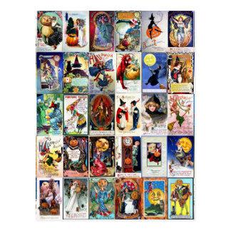 Halloween vintage cartes postales
