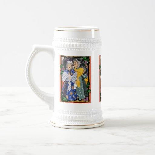 Halloween vintage tasse