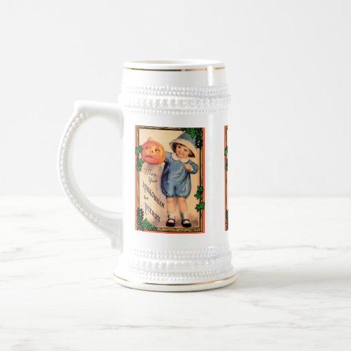 Halloween vintage tasse à café