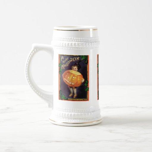 Halloween vintage mugs à café