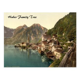 Hallstatt, arbre généalogique de l'Autriche Carte Postale