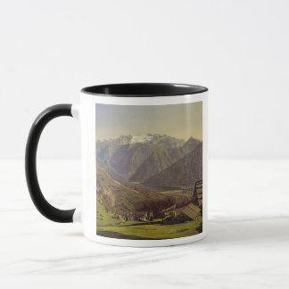 Hallstatter-Voyez (huile sur la toile) Mug