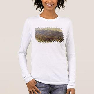 Hallstatter-Voyez (huile sur la toile) T-shirt À Manches Longues