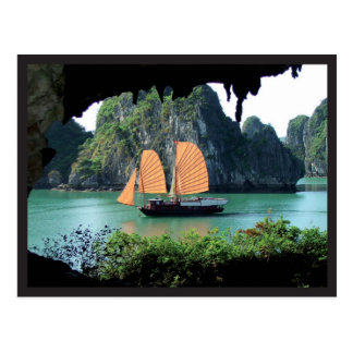 Halong Bay - Postal card Carte Postale