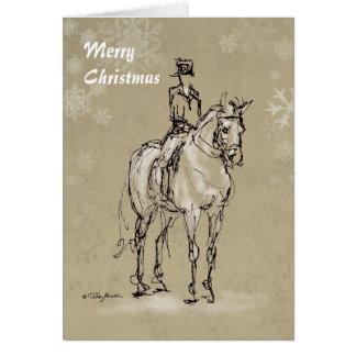 Halte de Joyeux Noël à la carte de X