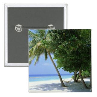 Hamac et palmier badge