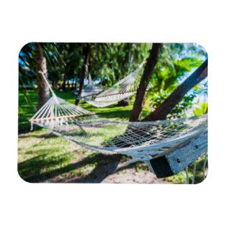 Hamac sur la plage, Fidji Magnet Flexible
