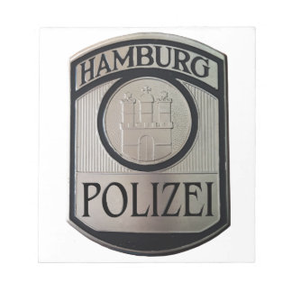 Hambourg Polizei Blocs Notes