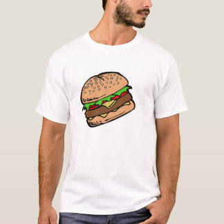 Hamburger 4 t-shirt