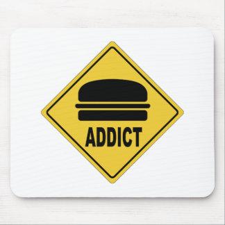 Hamburger d'aw tapis de souris
