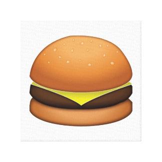 Hamburger de fromage - Emoji Toile