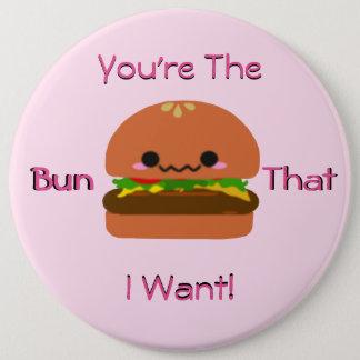 Hamburger de Kawaii Badge