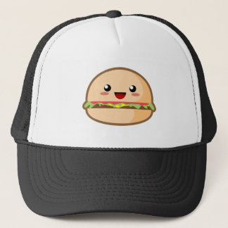 Hamburger de Kawaii Casquette
