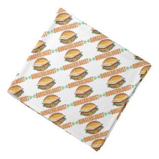 Hamburger drôle bandana