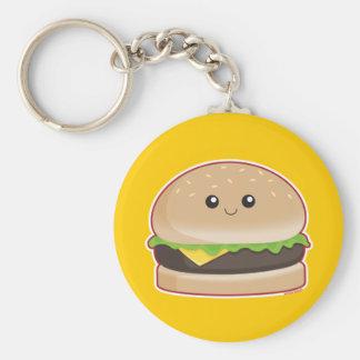 Hamburger Porte-clé Rond