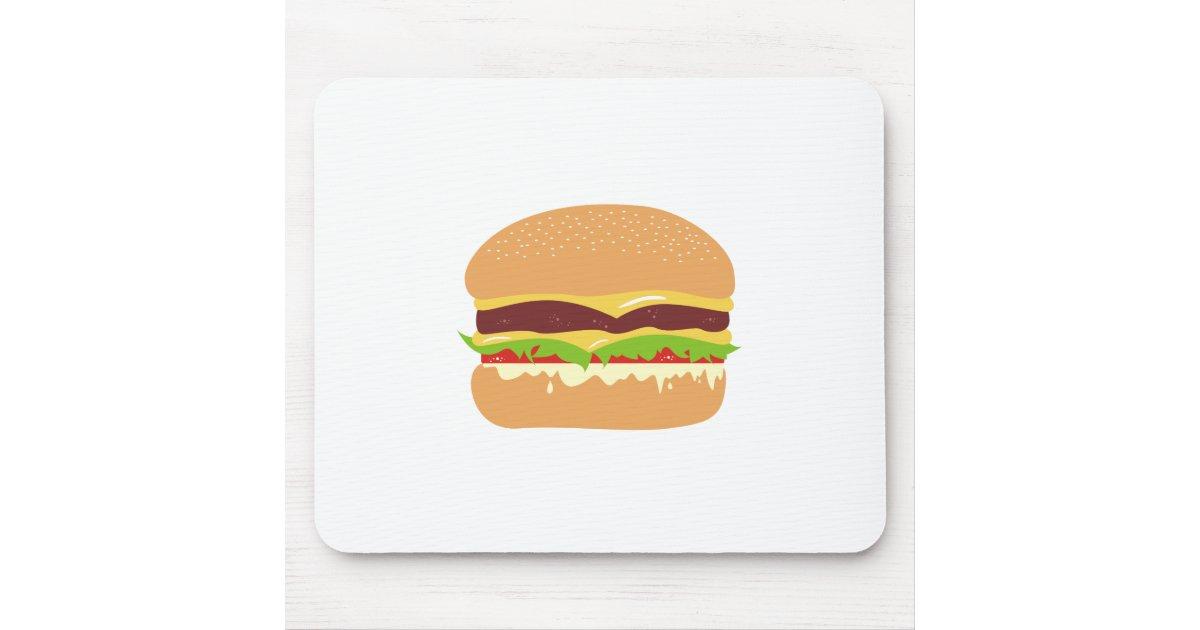 hamburger tapis de souris zazzle. Black Bedroom Furniture Sets. Home Design Ideas
