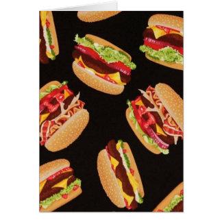 Hamburgers Carte De Vœux