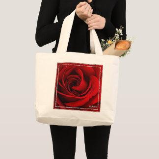 HAMbWG - sac fourre-tout - rose rouge peint