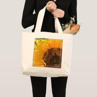 HAMbWG - sac fourre-tout - tournesol peint