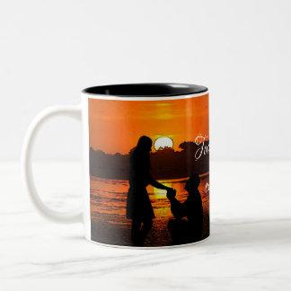 HAMbWG - tasse de café - deux coeurs, un amour