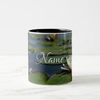 HAMbWG - tasse de café - nénuphar