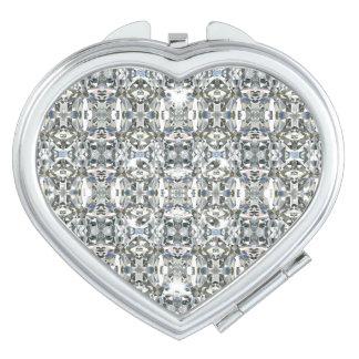 HAMbyWG - miroir compact - image de motif de