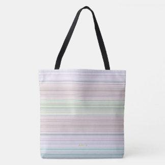 HAMbyWG - sac fourre-tout - lignes en pastel