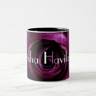 HAMbyWG - tasse de café - framboise s'est levé
