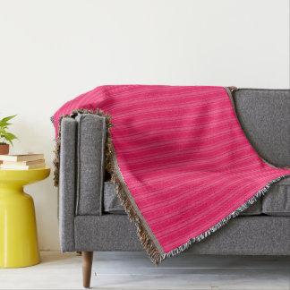 HAMbyWhiteGlove - couverture de jet - rose/rose