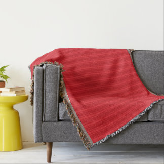 HAMbyWhiteGlove - couverture de jet - rouge/rouge