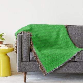 HAMbyWhiteGlove - couverture de jet - vert/vert