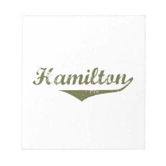 Hamilton Bloc-note