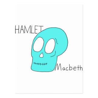 Hamlet Macbeth Carte Postale