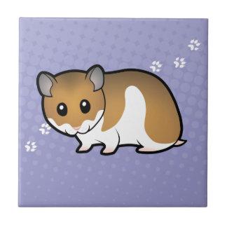 Hamster de Syrien de bande dessinée Petit Carreau Carré
