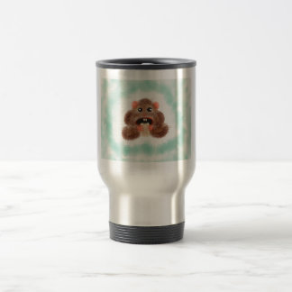 Hamster mangeant un burrito mug de voyage
