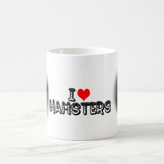 Hamsters I (de coeur) Mug
