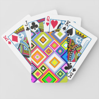 Hanche à être édredon carré jeux de cartes
