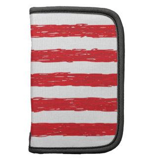 *Hand américain Sketch* de drapeau des Etats-Unis Agenda Folio
