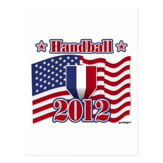 Handball 2012 carte postale