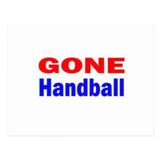 Handball allé carte postale